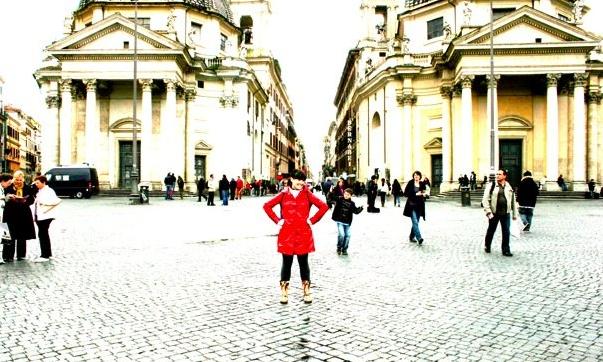 Ana en Roma