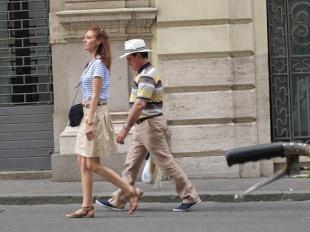 Turist Style: parejas peculiares en Roma
