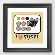 Cuadro sushi