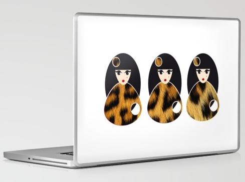 Las leopardas Laptop