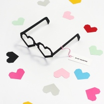 printable valentine cards heart glasses