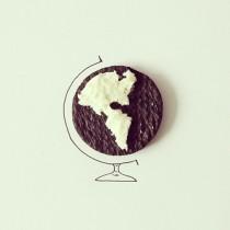 Oreo globe © Cintascotch