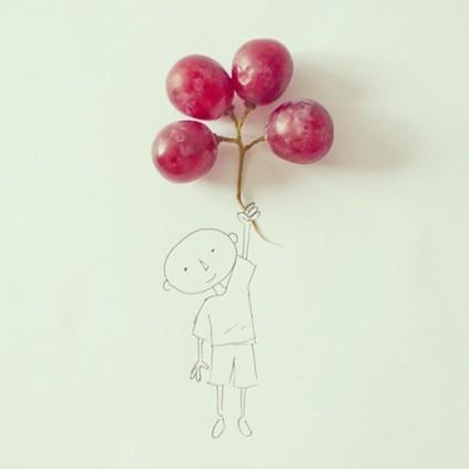 Grape balloons © Cintascotch