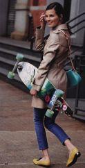 Hanneli Mustaparta skater style