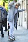 Rita Ora and Cara Delevingne go skateboarding