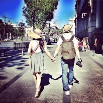 Turist Style: parejas peculiares en Madrid