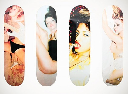 Marc Jacobs by Juergen Teller skateboards