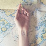 Tiny Tattoos With Parallel Backgrounds
